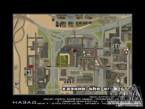 Concierto del AK-47 v2 para GTA San Andreas novena de pantalla