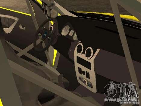 Dacia Sandero Speed Taxi para la vista superior GTA San Andreas
