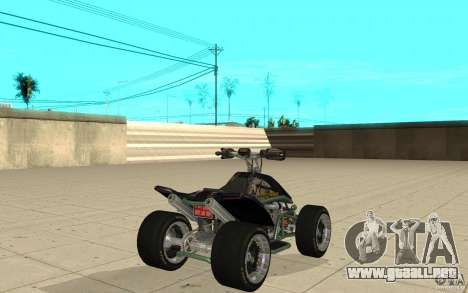 Powerquad_by-Woofi-MF piel 4 para GTA San Andreas vista posterior izquierda