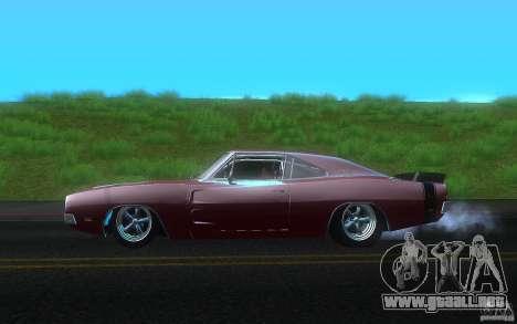 Dodge Charger RT 69 para GTA San Andreas left