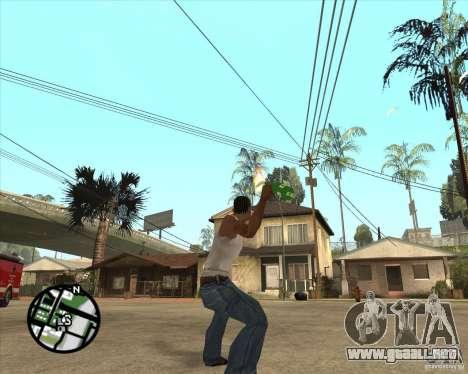 RiCkys Molotov Cocktail para GTA San Andreas tercera pantalla