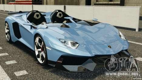 Lamborghini Aventador J 2012 para GTA 4