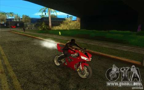 Yamaha YZF R1 Tuning Version para la vista superior GTA San Andreas