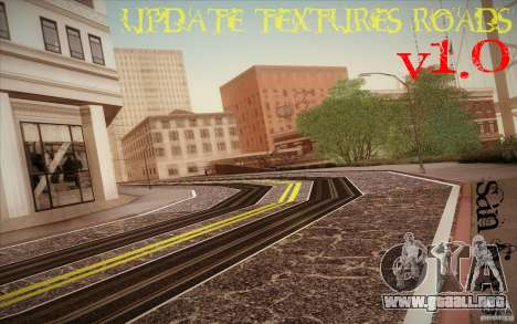 New roads San Fierro para GTA San Andreas segunda pantalla