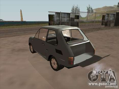 Fiat 126p Elegant para visión interna GTA San Andreas