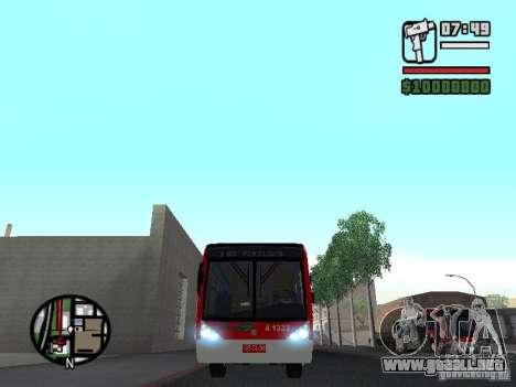 Caio Millennium TroleBus para visión interna GTA San Andreas