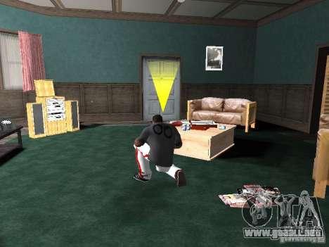 Aliento para GTA San Andreas segunda pantalla