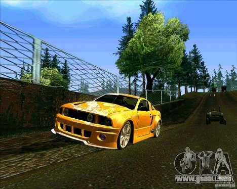 ENBseries V0.45 by 1989h para GTA San Andreas sucesivamente de pantalla
