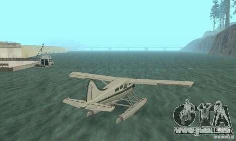 DeHavilland Beaver DHC2 para GTA San Andreas left