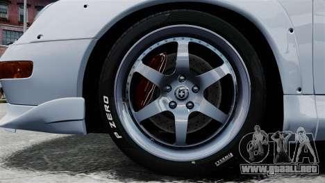 Porsche 993 GT2 1996 para GTA 4 vista hacia atrás