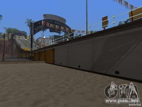 Playa nueva textura v2.0 para GTA San Andreas tercera pantalla