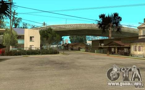 New Grove Street TADO edition para GTA San Andreas segunda pantalla