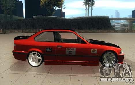 BMW Fan Drift Bolidas para visión interna GTA San Andreas