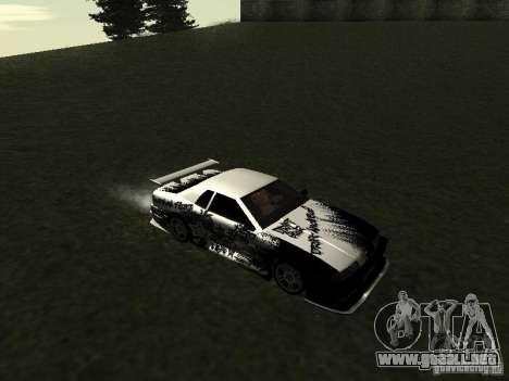 Drift Star para GTA San Andreas left