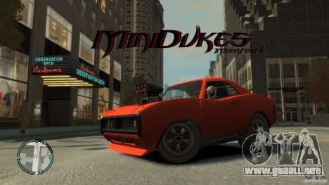 Mini Dukes para GTA 4