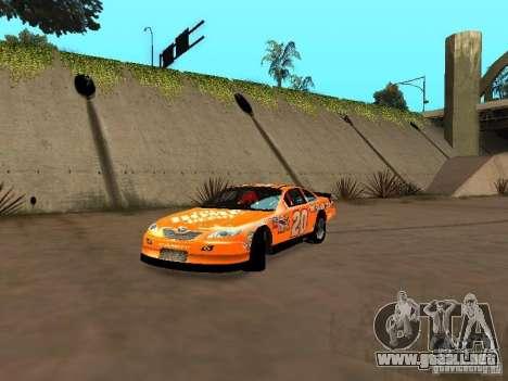 Toyota Camry Nascar Edition para GTA San Andreas left