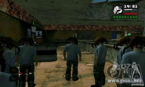 Headcrab para GTA San Andreas sucesivamente de pantalla