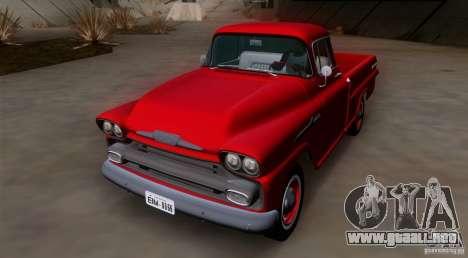 Chevrolet Apache GM 1959 para GTA San Andreas