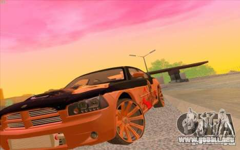 Dodge Charger SRT 8 para GTA San Andreas left