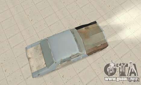 Pontiac LeMans 1970 Scrap Yard Edition para la visión correcta GTA San Andreas