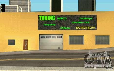 Ukravto Corporation para GTA San Andreas sucesivamente de pantalla