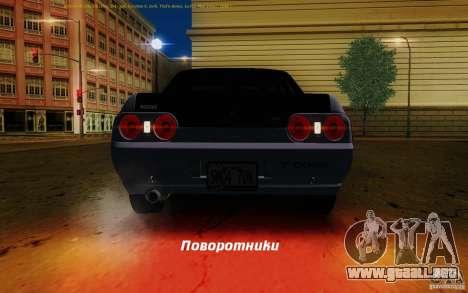 Nissan Skyline GT-R R32 1993 Tunable para las ruedas de GTA San Andreas