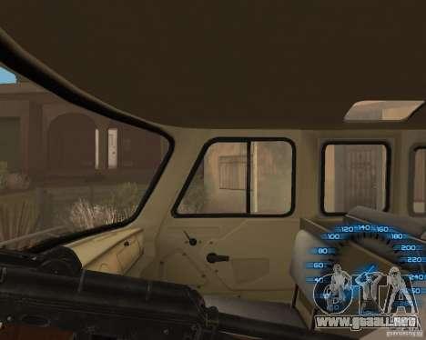 Detrás del volante para GTA San Andreas tercera pantalla