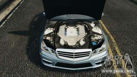 Mercedes-Benz E63 AMG 2010 para GTA 4 vista lateral