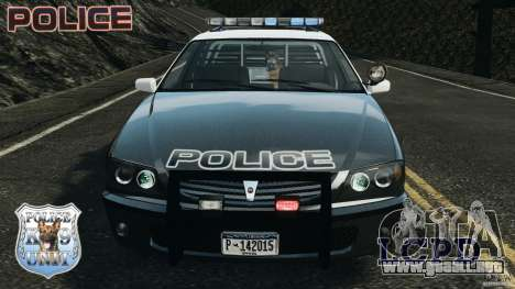 LCPD K9 Unit para GTA 4 vista interior
