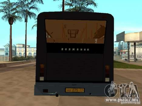 Volzhanin 5270 para visión interna GTA San Andreas