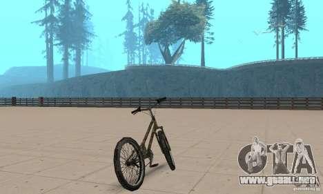 Trial bike para GTA San Andreas left