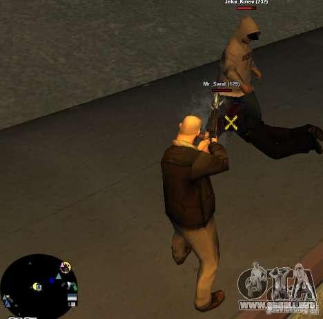 HUD №2 para GTA San Andreas segunda pantalla