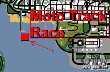 Moto Track Race para GTA San Andreas sexta pantalla