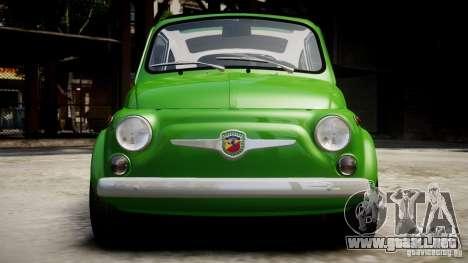 Fiat Abarth 595 SS 1968 para GTA 4 visión correcta