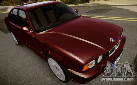 BMW M5 (E34) 1995 v1.0 para GTA 4 vista interior
