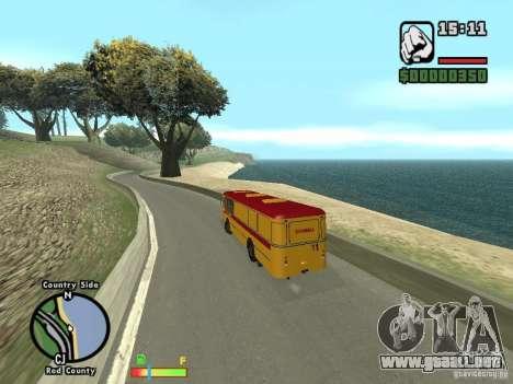 Asistencia técnica HBI 677 LIAZ para la visión correcta GTA San Andreas