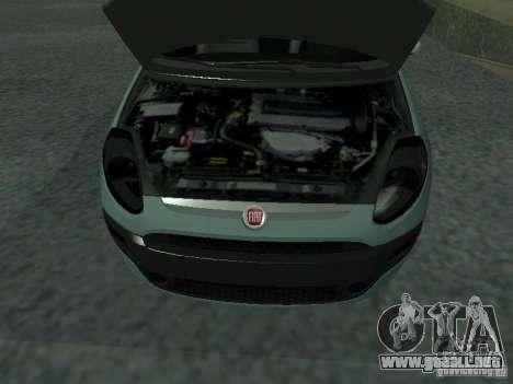 Fiat Punto EVO SPORT 2010 para la visión correcta GTA San Andreas