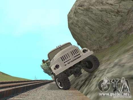 ZIL 131 Main para visión interna GTA San Andreas