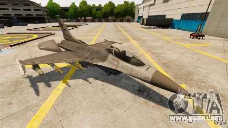 F-16C Fighting Falcon para GTA 4