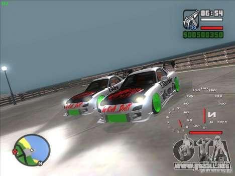 Mazda RX-7 Drift Version para la visión correcta GTA San Andreas
