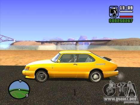 ENBSeries v2.0 para GTA San Andreas sucesivamente de pantalla