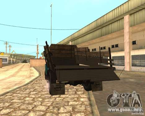 433362 ZIL para vista lateral GTA San Andreas