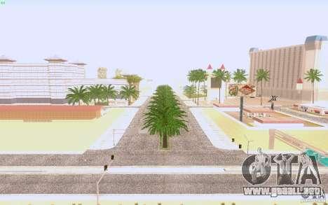 Asfalto HQ en Las Venturase para GTA San Andreas tercera pantalla
