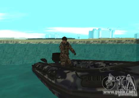Bote inflable Zodiac para GTA San Andreas left