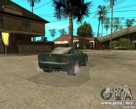 Dodge Viper Srt 10 para GTA San Andreas