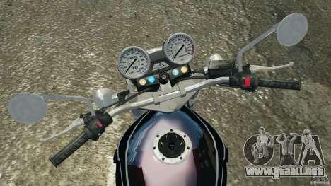 Kawasaki Zephyr para GTA 4 vista hacia atrás