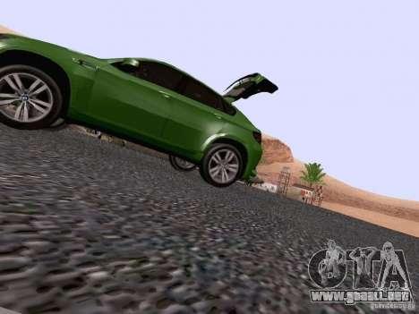 BMW X6 LT para la vista superior GTA San Andreas