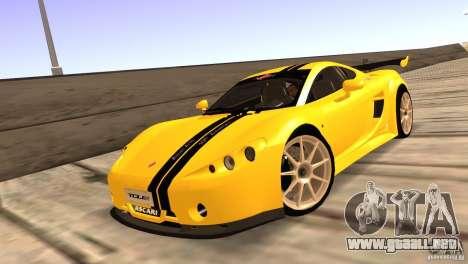 Ascari A10 para visión interna GTA San Andreas