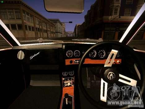 Mitsubishi Galant GTO-MR para la visión correcta GTA San Andreas