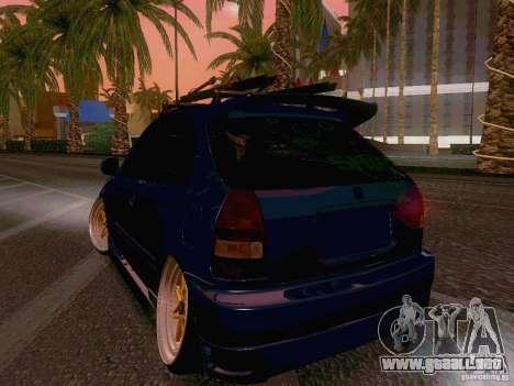 Honda Civic JDM Hatch para la visión correcta GTA San Andreas